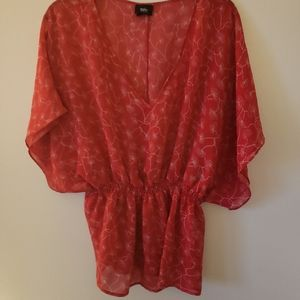 Womens red/orange shirt